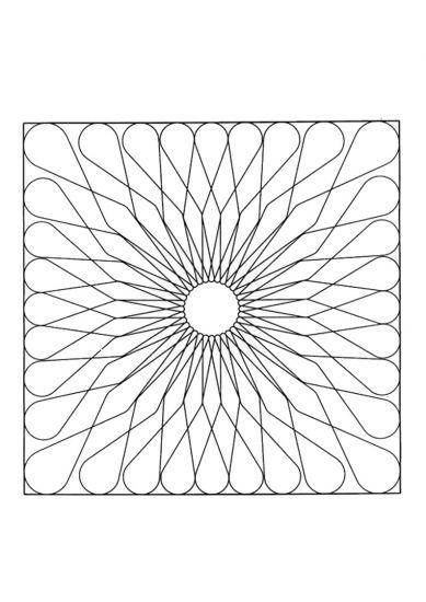 Mandala firkanter